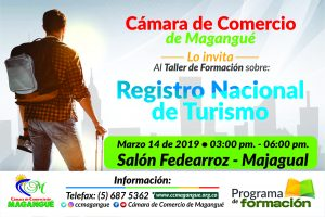 Jornada de Capacitación Registro Nacional de Turismo