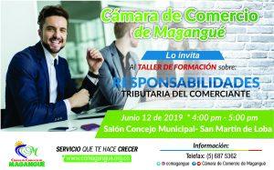 Responsabilidades Tributarias del Comerciante @ Salón Concejo Municipal