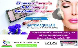 Taller de Auto-maquillaje @ Auditorio Jorge Yunez Dau
