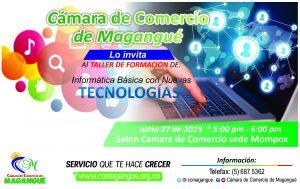 Informática Básica con Nuevas Tecnologías @ Cámara de Comercio sede Mompox