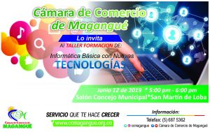 Informática Básica con Nuevas Tecnologías @ Salón Concejo Municipal