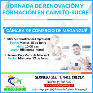 Jornada de Renovación y al Taller de Formación en Caimito. @ Jornada de Renovacion en Caimito-Sucre