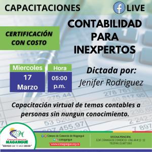 CONTABILIDAD PARA INEXPERTO. @ FACEBOOK CÁMARA DE COMERCIO MAGANGUÉ