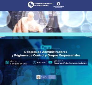 DEBERES DE ADMINISTRADORES Y RÉGIMEN DE CONTROL Y GRUPOS EMPRESARIALES @ https://youtu.be/YhOHwbdEZdU